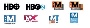 HBO M Encore Movie Network M fun